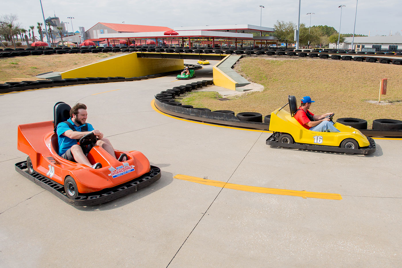 Go Kart Tracks - Broadway Grand Prix | Myrtle Beach, SC