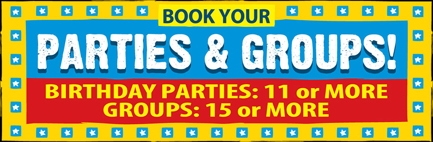 Group Parties and Birthday Parties