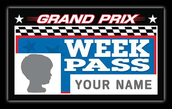 Broadway Grand Prix Week Passes