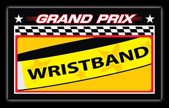 Broadway Grand Prix Wristbands